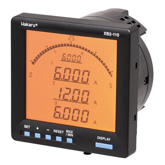 電子式マルチメータ 直流計測タイプ XB2-110