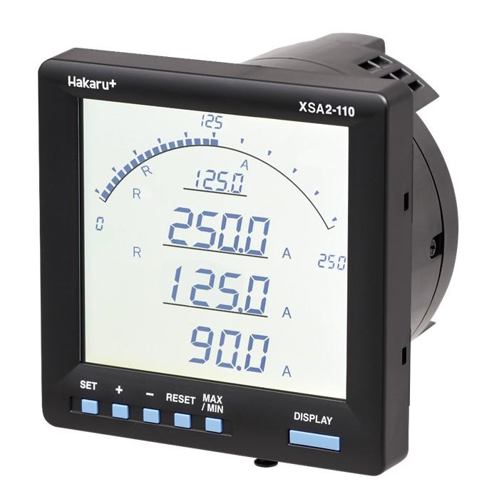 電子式マルチメータ<br>電流計測タイプ<br>XSA2-110