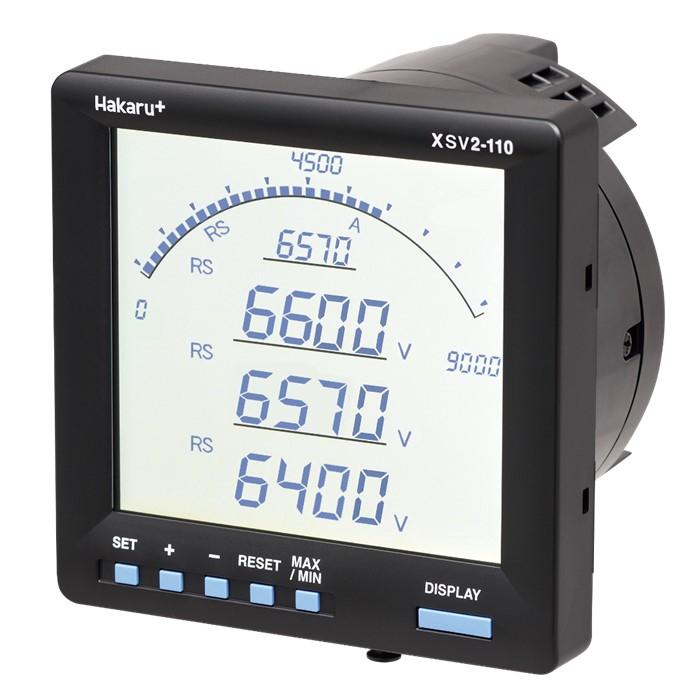 電子式マルチメータ 電圧計測タイプ XSV2-110