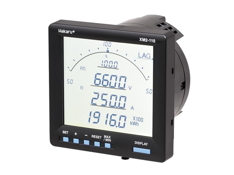 電圧440Vダイレクト計測で電子式マルチメータを2/3に小型化