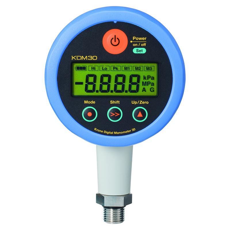 高精度デジタル圧力計 KDM30