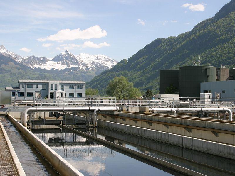 排水処理設備にある薬液タンク残量を…