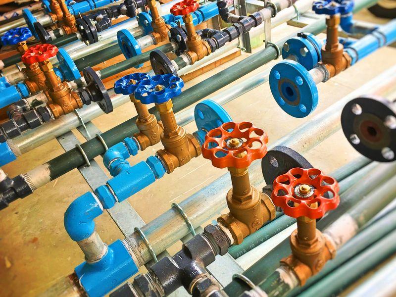 巡回検針業務をゼロに!工場内の水道メータの遠隔検針!