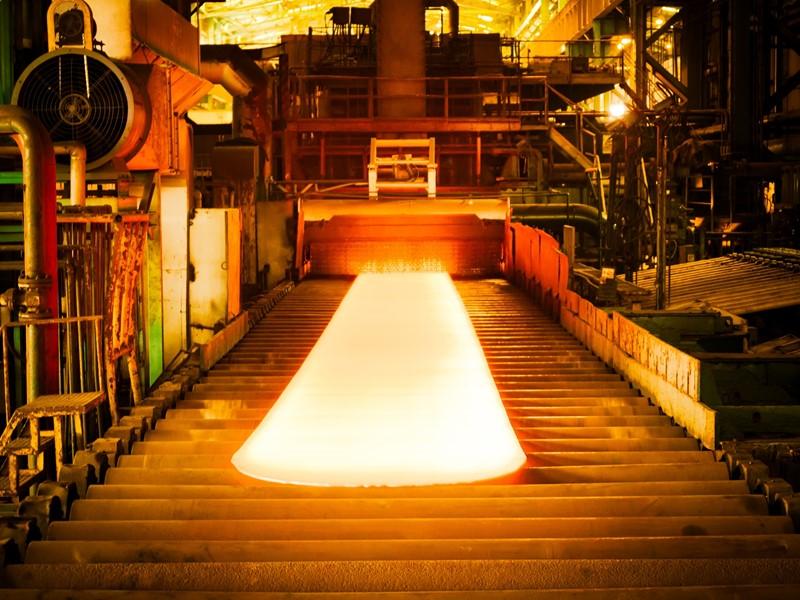 鉄鋼工場のベルトコンベアの遠隔負荷電流異常監視!