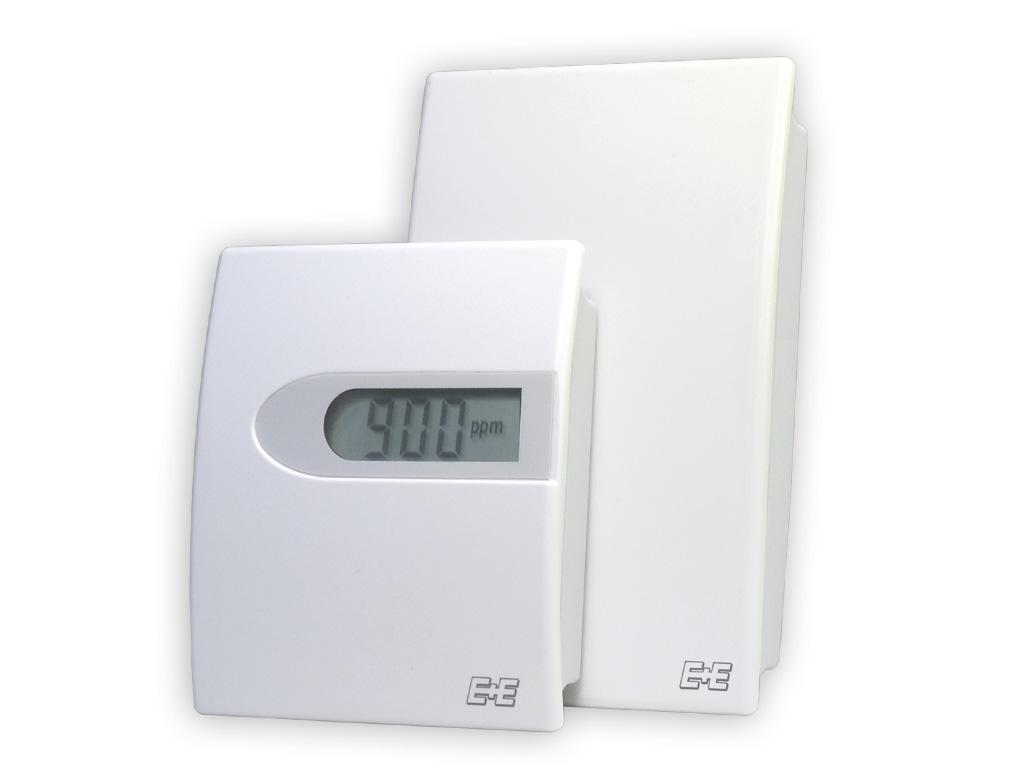 HVAC用壁面設置型CO2トランスミッター EE800