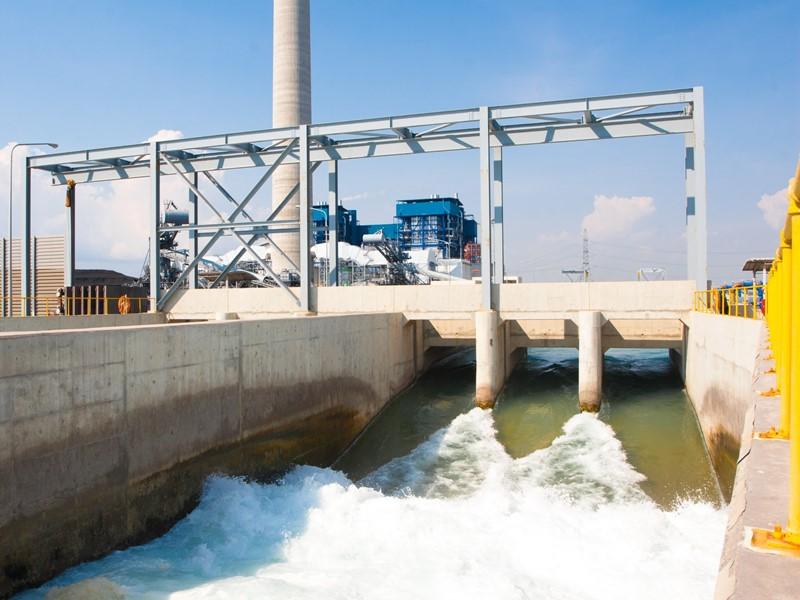 化学工場の排水濃度データをLoRa…